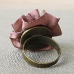 Chocolate Silk Ring