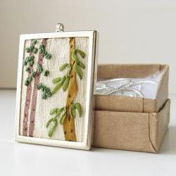 Evergreen Trees Necklace
